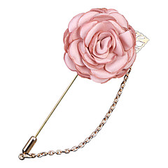 billige Motebrosjer-Dame Elegant / Link / Kjede Nåler - Fuskediamant Roser, Blomst Vintage, Mote, Britisk Brosje Lyseblå / Lys Rosa / Lyseblå Til Daglig / Ferie