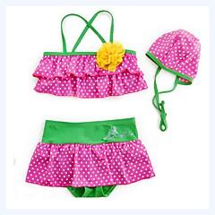 billige Badetøj til piger-Baby Pige Prikker Uden ærmer Badetøj