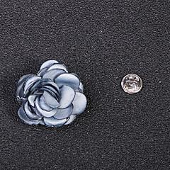 billige Motebrosjer-Dame Klassisk / Elegant Nåler - Fuskediamant Blomst, Kronblad Vintage, Mote, Britisk Brosje Lyseblå / Lys Rosa / Lyseblå Til Daglig / Ferie