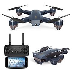 billige Fjernstyrte quadcoptere og multirotorer-RC Drone FQ777 FQ777-35 RTF 4 Kanaler 6 Akse 2.4G Med HD-kamera 720P 720P Fjernstyrt quadkopter FPV / En Tast For Retur / Sveve Fjernstyrt Quadkopter / Fjernkontroll / 1 USD-kabel