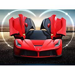 baratos Carros Controle Remoto-Carro com CR Rastar 50160-15 4CH Infravermelho Carro 1:14 8.5 km/h KM / H Luz LED / Controle Remoto