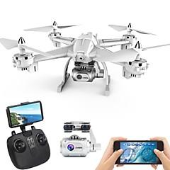 billige Fjernstyrte quadcoptere og multirotorer-RC Drone XINGYUCHUANQI S6 RTF 4 Kanaler 6 Akse 2.4G Med HD-kamera 5.0 1080P Fjernstyrt quadkopter En Tast For Retur / Hodeløs Modus / Tilgang Real-Tid Videooptakelse Fjernstyrt Quadkopter / Sveve
