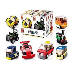 billiga Leksaker och spel-Sluban Byggklossar 12 pcs omvandlings Focus Toy Dekompressionsleksaker Alla Pojkar Flickor Leksaker Present