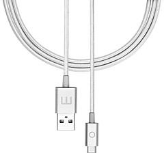 Χαμηλού Κόστους Αξεσουάρ Ήχου & Βίντεο-MEIZU USB 2.0 Τύπος C Καλώδιο, USB 2.0 Τύπος C to USB 2.0 Καλώδιο Αρσενικό - Θηλυκό 1.2m (4 ft)