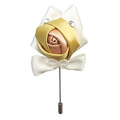 billige Motebrosjer-Herre Klassisk / Elegant Nåler - Blomst Europeisk, Elegant Brosje Lilla / Lyseblå / Lyseblå Til Bryllup / Fest