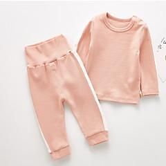 billige Tøjsæt til drenge-Baby Drenge Stribet Langærmet Tøjsæt