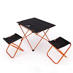 Χαμηλού Κόστους Έπιπλα Κατασκήνωσης-BEAR SYMBOL Πτυσσόμενη καρέκλα κάμπινγκ / Τραπέζι κάμπινγκ Εξωτερική Ελαφρύ, Αντιολισθητικό, Αναδιπλούμενο Oxford Πανί, 7075 Αλουμίνιο για Ψάρεμα / Κατασκήνωση Πορτοκαλί