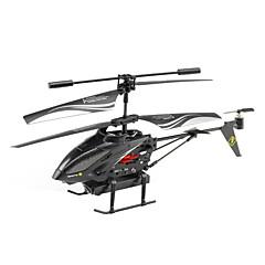 baratos Helicópteros RC-Helicóptero com CR WLtoys LX0068A 5 Canais Infravermelho Com Câmera RTF Luzes LED / Flutuar / Controle Remoto
