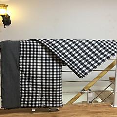 billiga Täcken och överkast-Bekväm - 1 st. Täcke Sommar Bomull Rutig