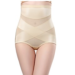 cheap Maternity Wear-Women's Seamless Panties / Shaping Panties Solid Colored High Waist