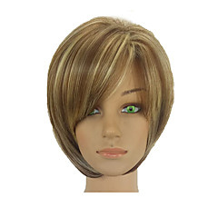 cheap Wigs & Hair Pieces-Synthetic Wig Women's Straight Ombre Short Bob Synthetic Hair 10 inch Normal / Soft / Heat Resistant Ombre Wig Short Capless Ombre Color hairjoy