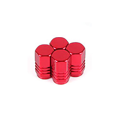 cheap Car Valve Caps-Aluminum Alloy Valve Cap Automobile Valve Cap Tyre Cap Valve Cap Automobile Product(4 Pcs)