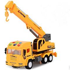 Χαμηλού Κόστους Toy Trucks & Τεχνικά Οχήματα-Όχημα κατασκευών Παιχνίδια φορτηγά και κατασκευαστικά οχήματα 1:32 Αναλαμπή Νεό Σχέδιο Προσομοίωση Πλαστικό Περίβλημα 1 pcs Παιδιά Αγορίστικα Κοριτσίστικα Παιχνίδια Δώρο