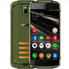 "billiga Mobiltelefoner-SERVO H6 Waterproof Phone. 5 tum "" Mobiltelefon (1GB + 8GB 5 mp / Ficklampa Spread SC7731C 2800 mAh mAh) / 854x480"