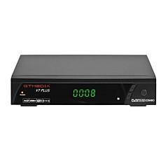 billige TV-bokser-GTMEDIA V7S PLUS Satellitt-TV mottaker MTos 1.2 Satellitt-TV mottaker 1GB RAM 64MB ROM Støtte H.265