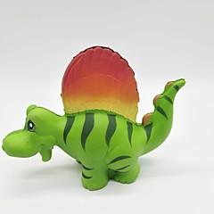billige Originale moroleker-Klemmeleker Stresslindrende leker Dinosaur Søtt Stress og angst relief Dekompresjon Leker Poron 1 pcs Barn Voksne Alle Leketøy Gave
