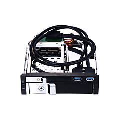tanie Obudowy na dysk twardy-Unestech Obudowa dysku twardego Kompatybilny dysk twardy / Podłącz i graj / Wielofunkcyjny Stal nierdzewna / Stop aluminium-magnez USB 3.0 ST7226U