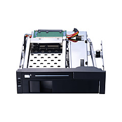 baratos Capas para Disco Rígido-Unestech Gabinete do disco rígido Instalação automática / Casos com luz LED / Multifunção Aço Inoxidável / Liga de alumínio e magnésio ST7221B