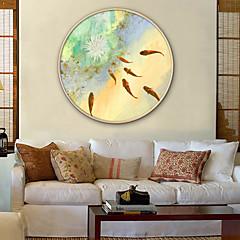 billige Innrammet kunst-Innrammet Lerret / Innrammet Sett - Dyr / Blomstret / Botanisk Plastikk Tegning