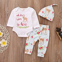 Χαμηλού Κόστους Βρεφικά σετ ρούχων-Μωρό Κοριτσίστικα Ενεργό   Βασικό  Χριστούγεννα   Καθημερινά   Αθλητικά eb542b7164e