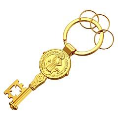 baratos Chaveiros-Chaveiro Dourado / Prata Cobre, Chapeado Dourado Clássico Para Presente / Diário