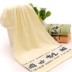 billiga Handdukar och badrockar-Överlägsen kvalitet Tvätt handduk, Geometrisk 100% Bambufiber Badrum 1 pcs