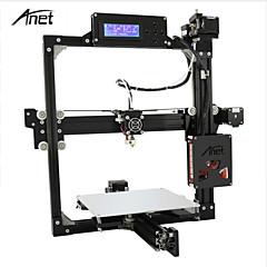 baratos Impressoras 3D-Anet a2 3d impressão diy alumínio metal 3d tridimensional bocal cartão tf off-line de impressão lcd display inteligente 3d impressoras