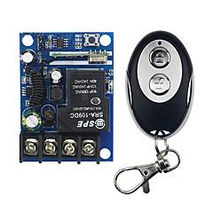 voordelige -leertype 220v 4-weg afstandsbediening schakelaar metalen drukknop ronde 4-knops draadloze afstandsbediening