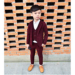 tanie Odzież dla chłopców-Dzieci Dla chłopców Nadruk Długi rękaw Komplet odzieży