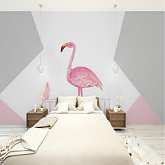 cheap -Wallpaper / Mural Canvas Wall Covering - Adhesive required Art Deco / Pattern / 3D