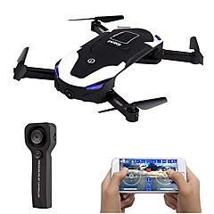 billige Fjernstyrte quadcoptere og multirotorer-RC Drone IDEA8 RTF 6CH 6 Akse 2.4G Med 2,0 M HD-kamera 2.0MP 720P Fjernstyrt quadkopter LED Lys / En Tast For Retur / Hodeløs Modus Fjernstyrt Quadkopter / Fjernkontroll / 1 USD-kabel / Sveve / Sveve