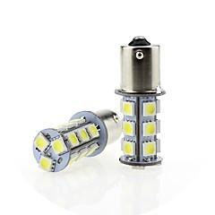 tanie Oświetlenie pomocnicze-SENCART 2 szto. T20 (7440,7443) / BA15S (1156) / BAY15D(1157) Motor / Samochód Żarówki 4 W SMD 5050 380 lm 18 LED Włącz sygnał świetlny / Reflektor / Motocykl Na