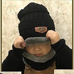 tanie Akcesoria dla dzieci-Dzieci Unisex Solidne kolory Kapelusze i czapki