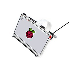 cheap -Waveshare  7inch LCD for Pi   7inch IPS Display for Raspberry Pi DPI interface  no Touch  1024x600