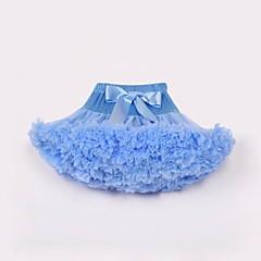 billige Pigenederdele-Børn / Baby Pige Ensfarvet Nederdel