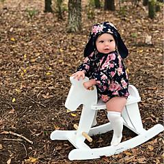 billige Babytøj-Baby Pige Blomstret Langærmet En del
