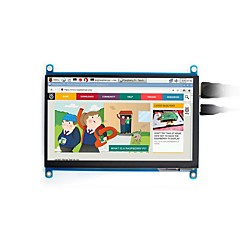 cheap -7inch, 1024x600, Capacitive Touch Screen LCD, HDMI interface, Supports Multi mini-PCs, Multi Systems