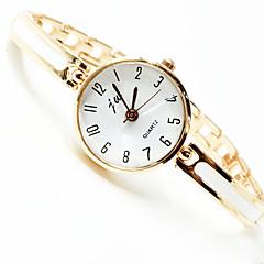 billiga Klockor-Dam Armbandsklocka Armbandsur Quartz Ny Design Vardaglig klocka Legering Band Ramtyp Elegant minimalist Guld - Guld