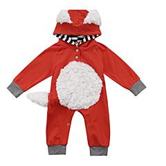 billige Babytøj-Baby Pige Ensfarvet Langærmet En del