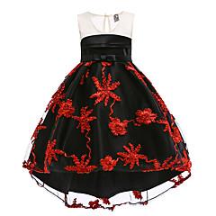 tanie Odzież dla dziewczynek-Dzieci / Brzdąc Dla dziewczynek Kolorowy blok Bez rękawów Sukienka