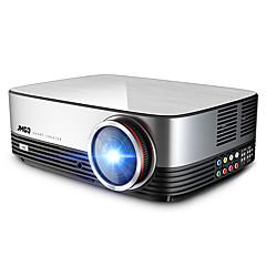 baratos Projetores-JmGO A6 LCD Projetor para Home Theater LED Projetor 300 lm Apoio, suporte 1080P (1920x1080) 60-300 polegada Tela