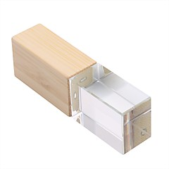 baratos Pen Drive USB-16GB unidade flash usb disco usb USB 2.0 De madeira Irregular Armazenamento Wireless