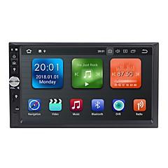 billiga DVD-spelare till bilen-Factory OEM WN7092 7 tum 2 Din Android 8.1 In-Dash DVD-spelare / Bil multimedia spelare / Bil GPS Navigator GPS / Inbyggd Bluetooth / RDS för Universell RCA / GPS Stöd MPEG / AVI / MPG Mp3 / WMA / WAV