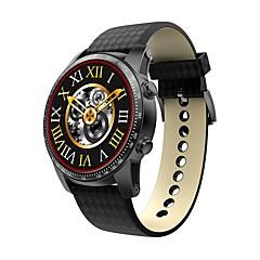 tanie Inteligentne zegarki-KING-WEAR® Inteligentny zegarek Android 3G Bluetooth 2G Kontrola APP Kamera Krokomierze Pulsometr Stoper Krokomierz Rejestrator aktywności fizycznej Budzik / WCDMA (850/2100MHz) / 512MB