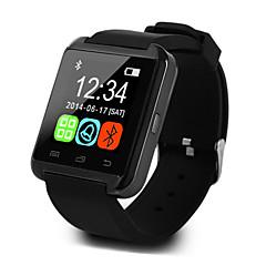 tanie Inteligentne zegarki-U8 Inteligentny zegarek Android iOS Bluetooth Sport Ekran dotykowy Spalonych kalorii Informacja o temperaturze Inteligentne etui Rejestrator aktywności fizycznej Budzik / Odbieranie bez użycia rąk