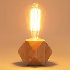 baratos Iluminação Decorativa-Simples Decorativa Luminária de Mesa Para Quarto Madeira / Bambu 220V