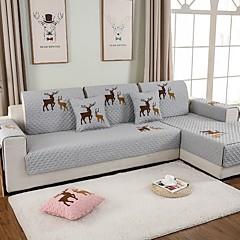 billige Hjemmetekstiler-Sofa Pute Trykt mønster / Moderne Reaktivt Trykk Polyester slipcovere