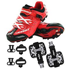 billige Sykkelsko-BOODUN/SIDEBIKE® Mountain Bike-sko Sykkelsko med pedal og tåjern Herre Anvendelig Sport Syntetisk Mikrofiber PU EVA Fjellsykling