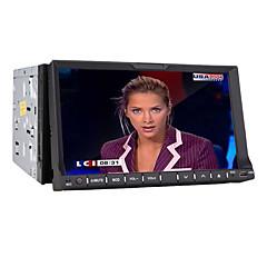 billiga DVD-spelare till bilen-7-tums 2 DIN tft-skärm i-dash bil dvd-spelare med iPod / iPhone-usb-ingång, Bluetooth, rds, tv