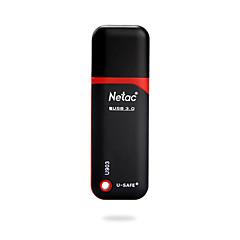 baratos Pen Drive USB-Netac 32GB unidade flash usb disco usb USB 3.0 Revestimento em Plástico Cubóide Impermeável / Encriptado / Resistente ao Choque U903